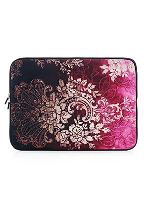 www.misstella.nl - Laptop sleeve 15,6 inch - 16 inch met barok print