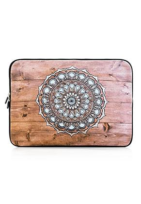 www.misstella.nl - Laptop sleeve 13 inch met mandala print