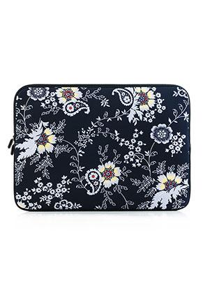 www.misstella.fr - Etui pour ordinateur portable 13 pouces avec fleurs
