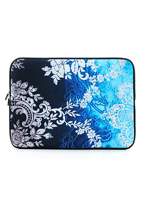 www.misstella.com - Laptop sleeve 13 inch with baroque print