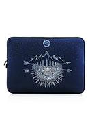 www.misstella.nl - Laptop sleeve 14 inch met bohemian print - F05599