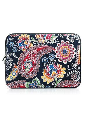 www.misstella.nl - Laptop sleeve 15,4 inch met Paisley print