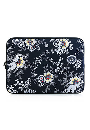 www.misstella.com - Laptop sleeve 15,6 inch - 16 inch with flowers