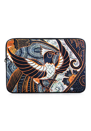 www.misstella.com - Laptop sleeve 15 inch with bird