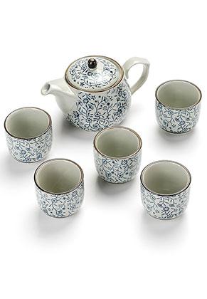 www.misstella.com - Five piece ceramic tea set