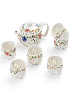 www.misstella.com - Six piece ceramic tea set