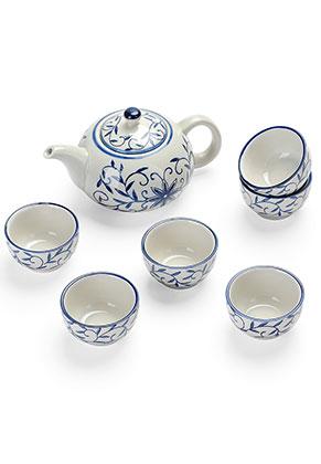 www.misstella.de - 6-teiliges keramik Kung fu Teegeschirr