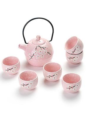 www.misstella.fr - Set à thé en céramique de six pièces