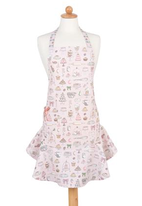 www.misstella.com - Clayre & Eef kitchen apron/cooking apron 85x68cm