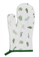 www.misstella.fr - Clayre & Eef mitaine de four/gant avec herbes 30x16cm - F05675