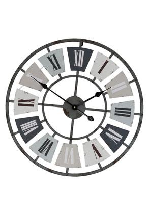 www.misstella.com - Clayre & Eef clock round Ø 60cm (60x5cm)