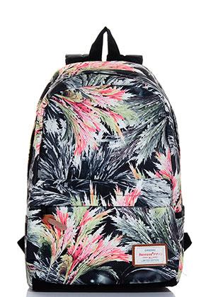 www.misstella.es - Bansusu mochila con hojas 45x28x15cm
