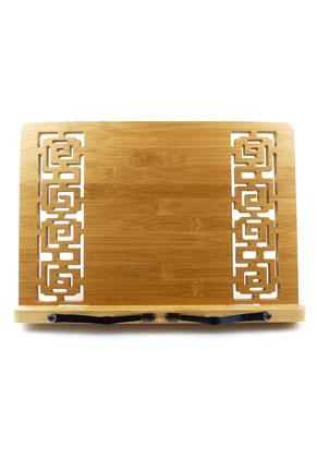 www.misstella.com - Bamboo book stand 34x24cm