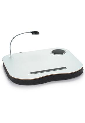 www.misstella.com - Wooden laptop table/ laptop cushion with LED light 40x34cm