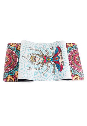 www.misstella.com - Rubber Yoga mat with mandala print 183x61x0,5cm
