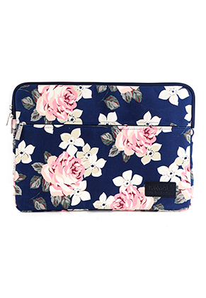 www.misstella.nl - Kinmac laptop sleeve 14 inch met rozen