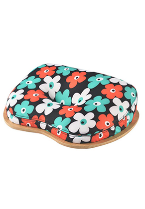 www.misstella.com - Wooden laptop table/ laptop cushion with flowers 40x30cm