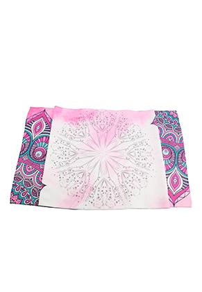 www.misstella.com - Microfiber yoga towel with mandala print 183x63cm