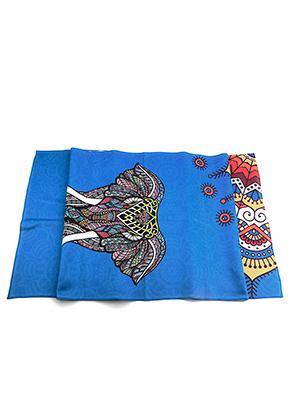 www.misstella.com - Microfiber yoga towel with elephant 183x63cm