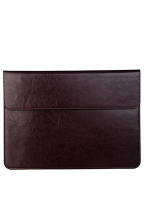 www.misstella.com - Thin leather laptop sleeve 13 inch 35x25x1cm