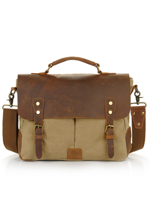 www.misstella.com - Leather laptop sleeve / laptop bag 15,4 inch 36x28x10cm