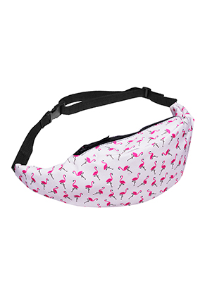 www.misstella.com - Bum bag with flamingo's