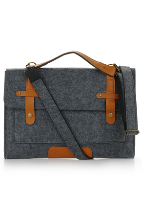 www.misstella.com - Felt laptop bag 17 inch