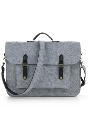 www.misstella.com - Felt laptop bag 14 inch