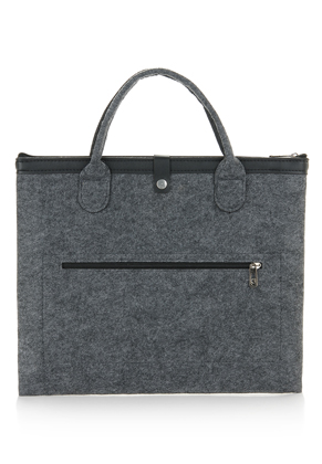 www.misstella.com - Felt laptop sleeve / laptop bag 14 inch 36,5x30cm