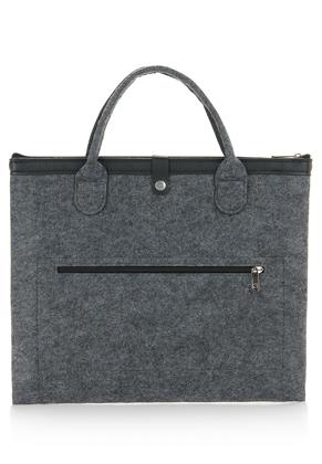 www.misstella.com - Felt laptop sleeve / laptop bag 17 inch