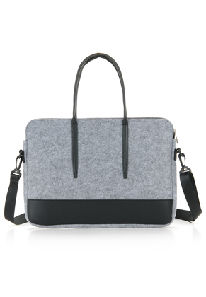 www.misstella.com - Felt laptop bag 15 inch