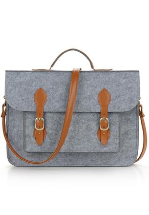 www.misstella.com - Felt laptop bag 14 inch
