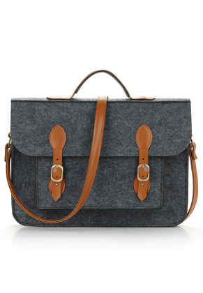 www.misstella.com - Felt laptop bag 17 inch