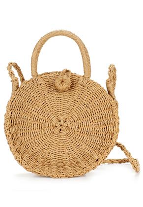 www.misstella.com - Straw shoulder bag 33x23cm