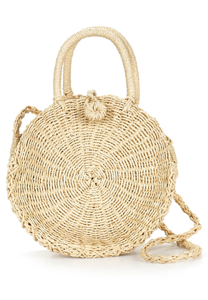 www.misstella.com - Straw shoulder bag 33x23cm