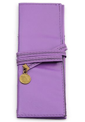 www.misstella.com - Imitation leather roll up pencil case 19x7cm