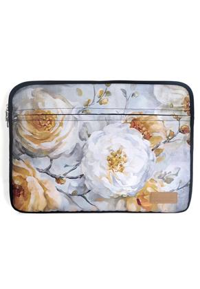 www.misstella.fr - Misstella etui pour ordinateur portable 17 pouces avec fleurs 46x34x2,5cm
