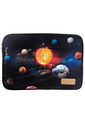 www.misstella.com - Laptop sleeve 15,6 inch with space print 39x28x2,5cm