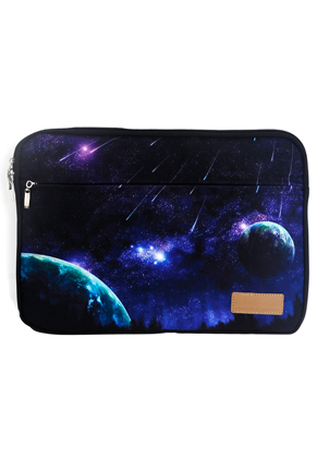 www.misstella.com - Laptop sleeve 15,6 inch with space print 39x28x2,5cm