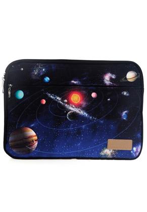www.misstella.com - Laptop sleeve 16 inch with space print 42x29x2,5cm