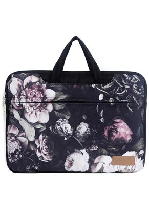 www.misstella.com - Misstella laptop sleeve/laptop bag 15,6 inch - 16 inch with flowers 42x30x2,5cm