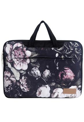 www.misstella.fr - Misstella etui/sac pour ordinateur portable 17 pouces avec fleurs 46x33x2,5cm