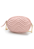 www.misstella.com - Imitation leather bum bag/shoulder bag quilted - F06504