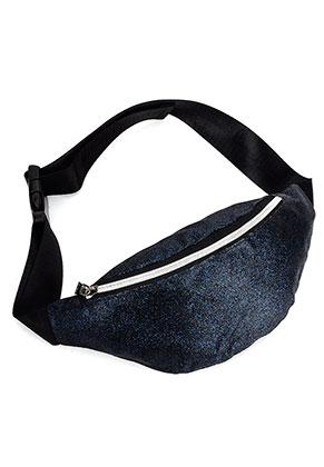 www.misstella.com - Imitation leather bum bag with glitter