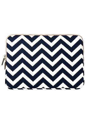 www.misstella.com - Laptop sleeve 13,3 inch with Zig Zag print 34x24x2,5cm