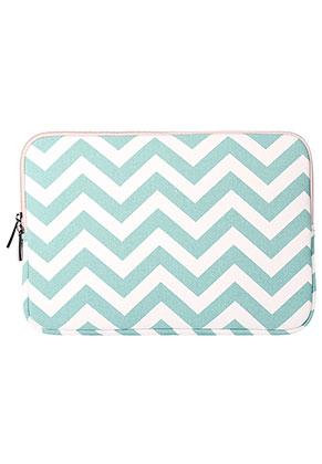www.misstella.com - Laptop sleeve 13,3 inch with Zig Zag print 35x25x2,5cm