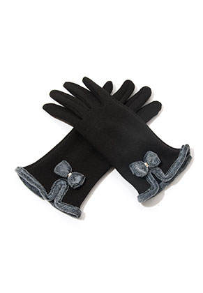 www.misstella.com - Touchscreen gloves with bow