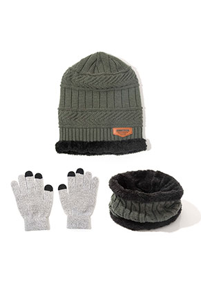 www.misstella.com - Set of hat, touchscreen gloves and tunnel scarf