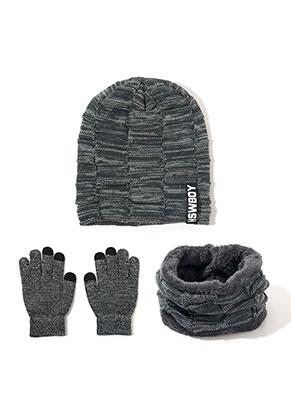 www.misstella.fr - Ensemble de bonnet, gants pour touchscreen et echarpe-tube