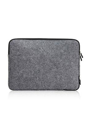 www.misstella.nl - Vilten laptop sleeve 13,3 inch 36x26x2cm
